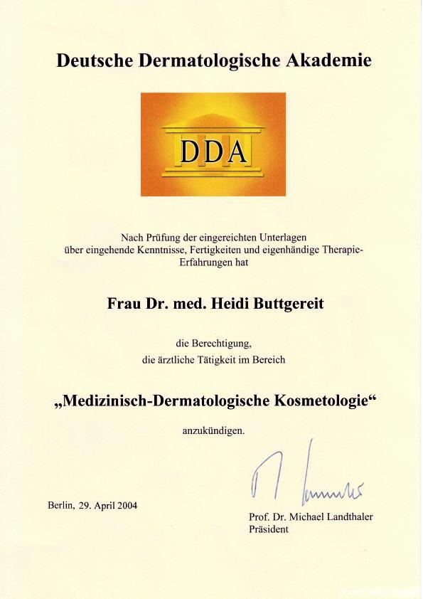 Hautarztpraxis Dr. med. Heidi Buttgereit